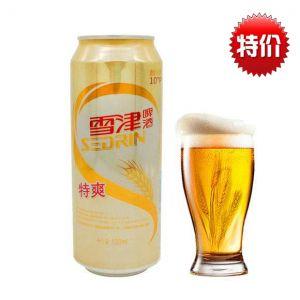 雪津特爽啤酒罐装500ml