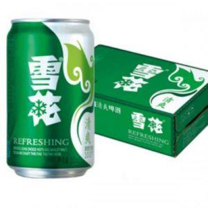 ~雪花清爽啤酒330ml